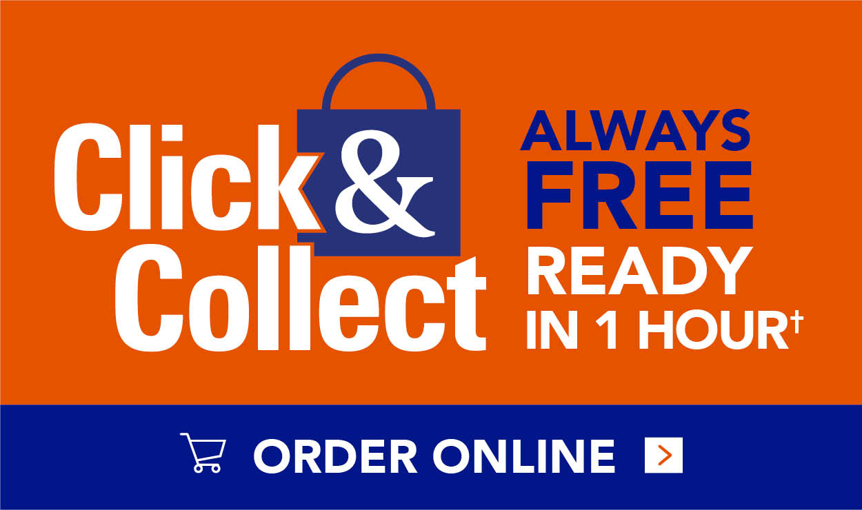 Click & Collect 1 Hour Guarantee