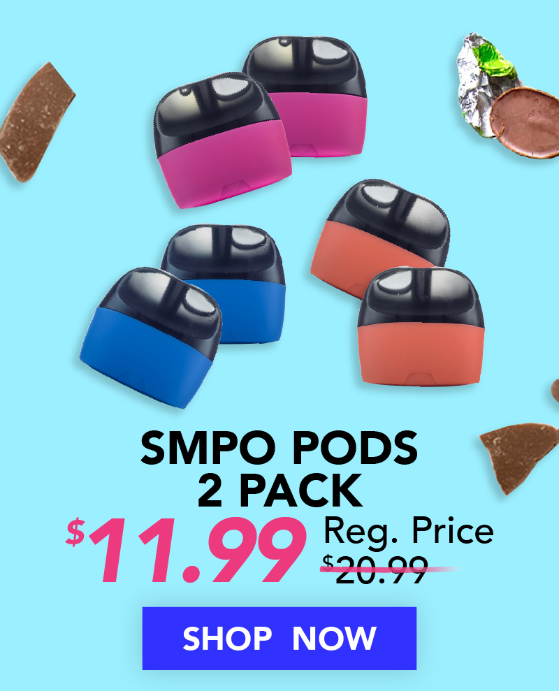 SMPO Pods 2 Pack $11.99