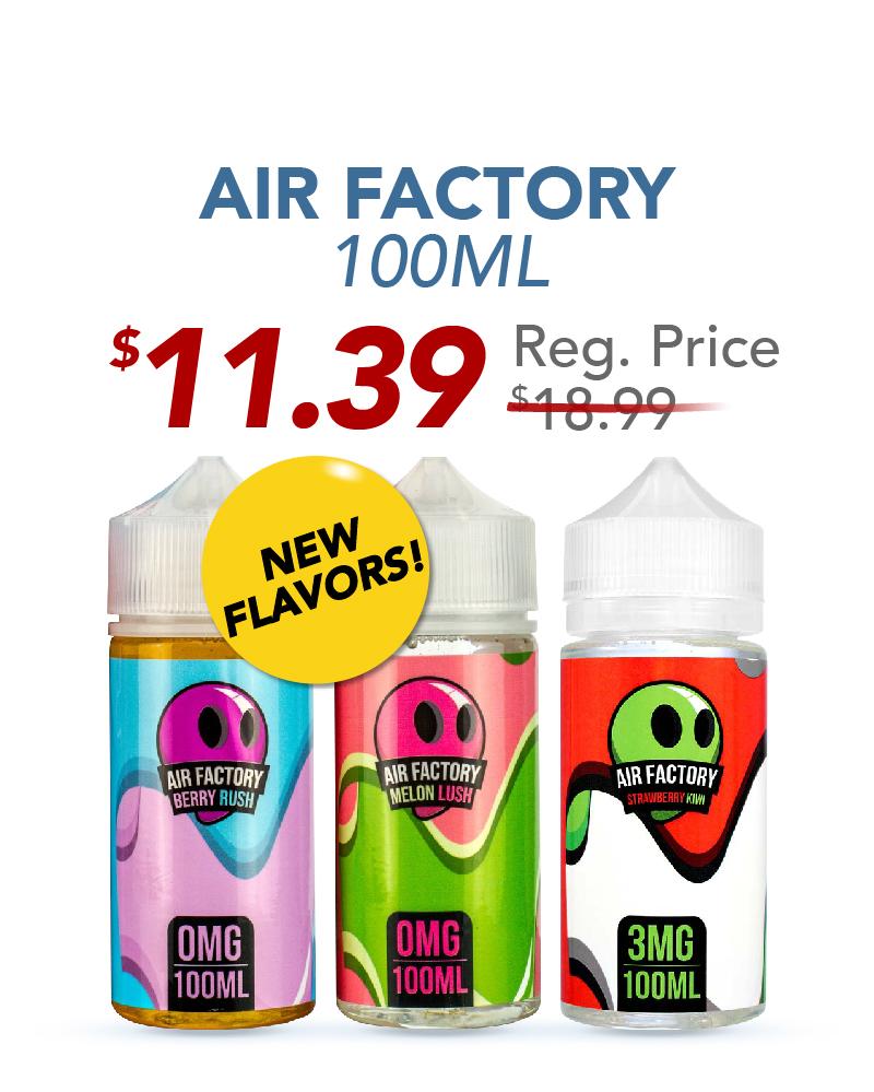 Air Factory 100ML, $11.39