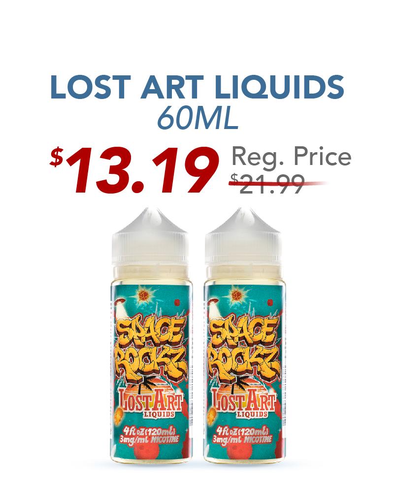 Lost Art Liquids 60ML, $13.19