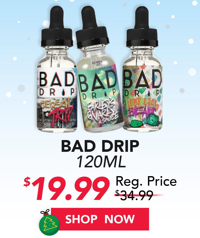 bad drip 120ml $19.99