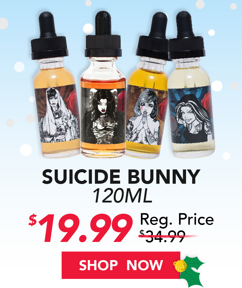 suicide bunny 120ml $19.99