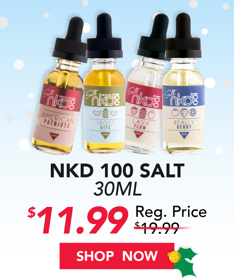 nkd 100 salt 30ml $11.99