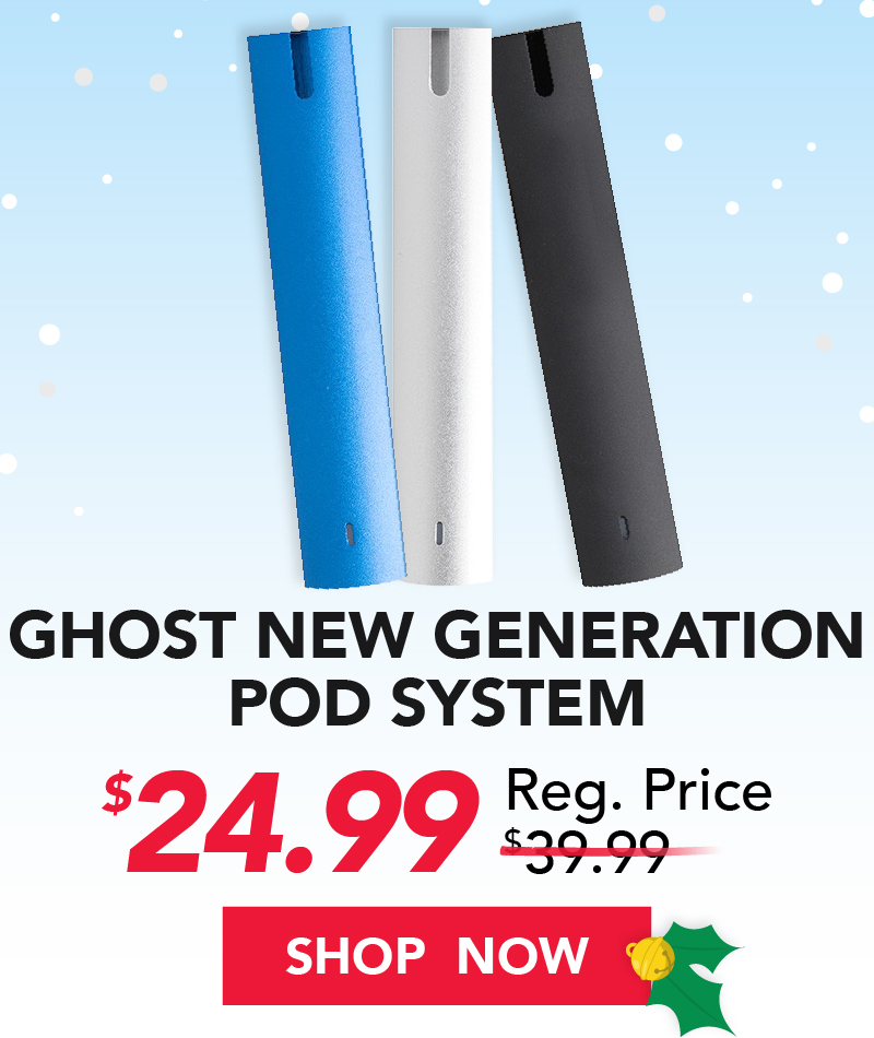 ghost new generation pod system $24.99