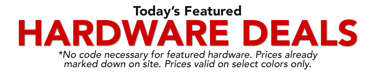 Today's Featured Hardware Deals