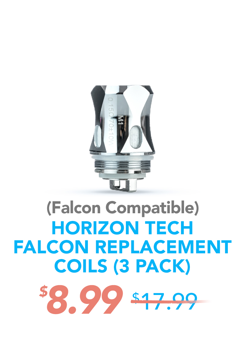 Horizon Falcon Replacement Coils (3 Pack), $8.99