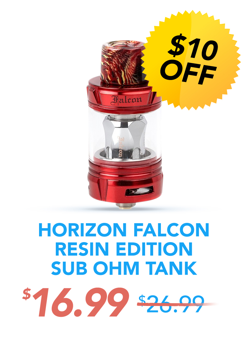 Horizon Falcon Resin Edition Sub Ohm Tank, $16.99