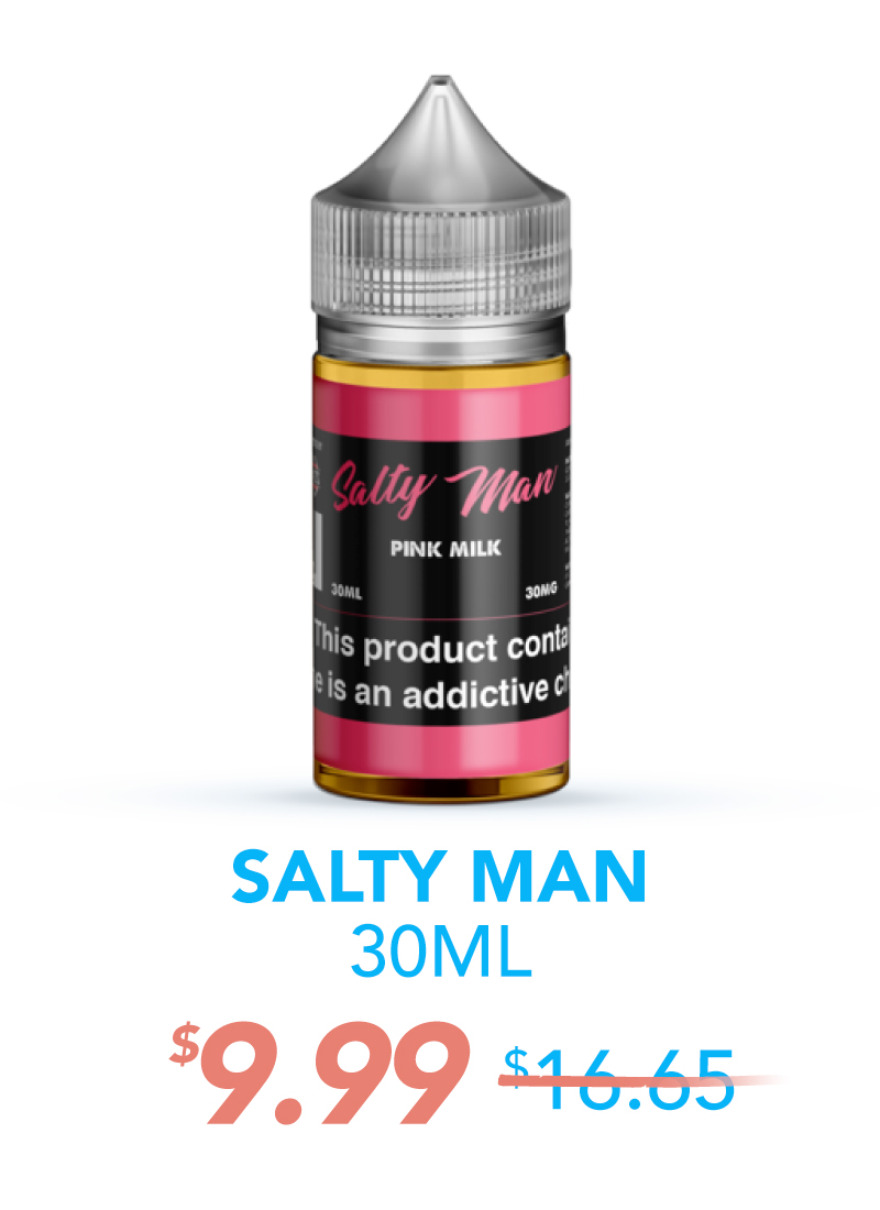 Salty Man 30ML, $9.99