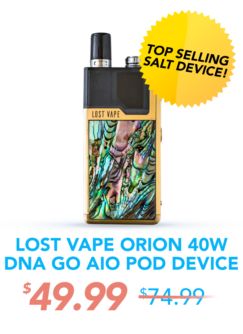 Lost Vape Orion 40W DNA GO AIO Pod Device, $49.99
