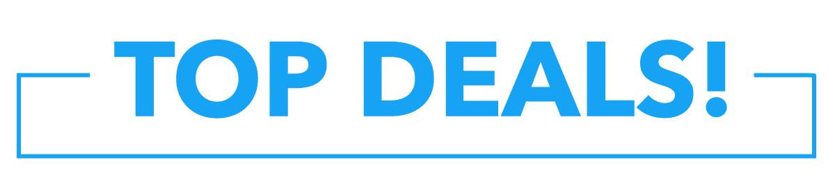 Top deals!