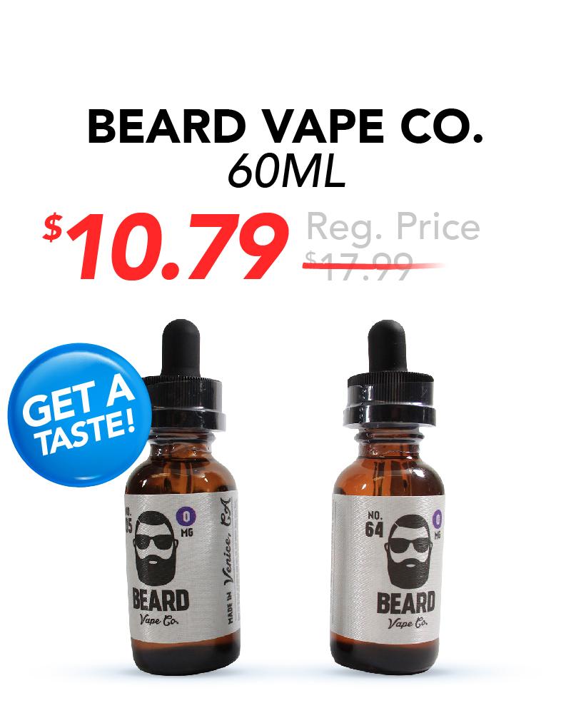 Beard Vape Co. 60ml, $10.79