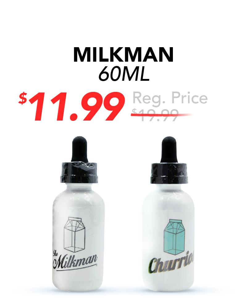 Milkman 60ml, $11.99