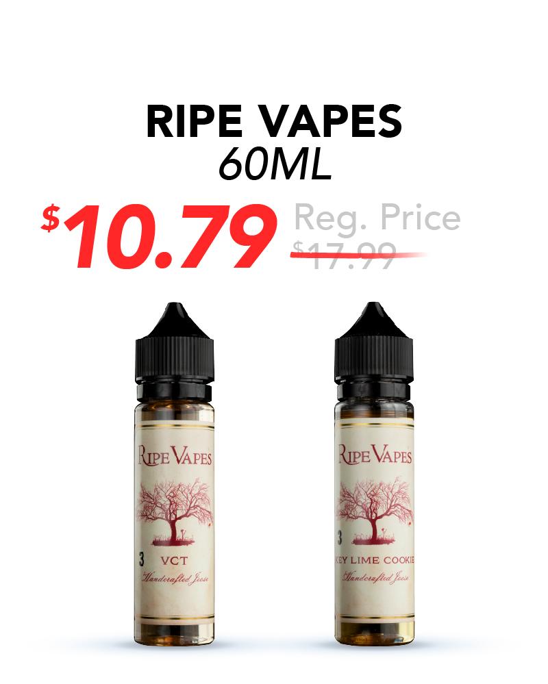 Ripe Vapes 60ml, $10.79