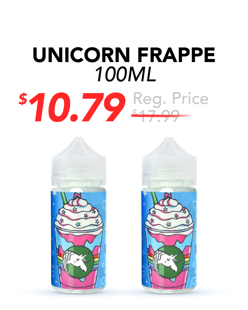 Unicorn Frappe 100ml, $10.79