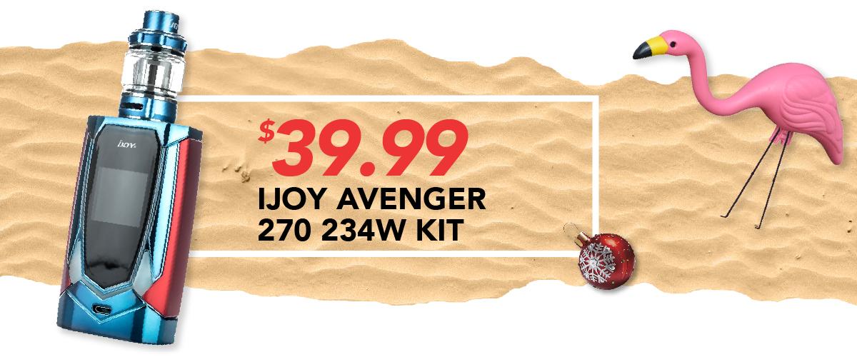Ijoy Avenger 270 234W Kit, $39.99