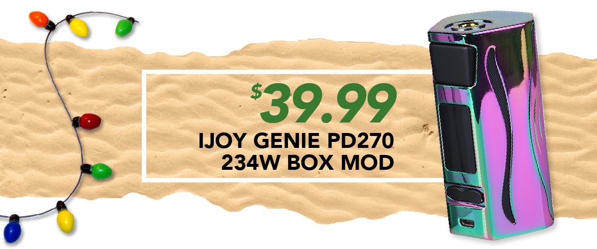 Ijoy Genie Pd270 234W Box Mod, $39.99