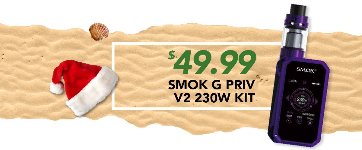 Smok G Priv V2 230W Kit, $49.99