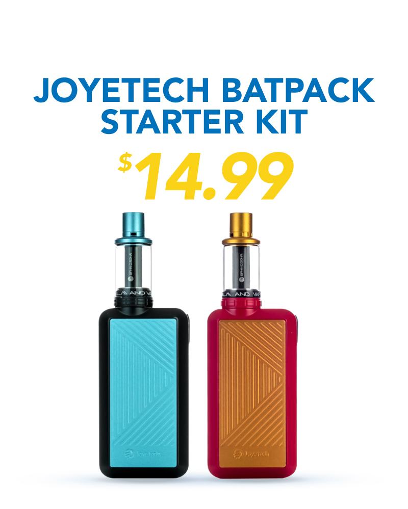 Joyetech Batpack Starter Kit, $14.99
