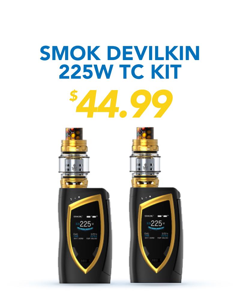 Smok Devilkin 225W TC Kit, $44.99