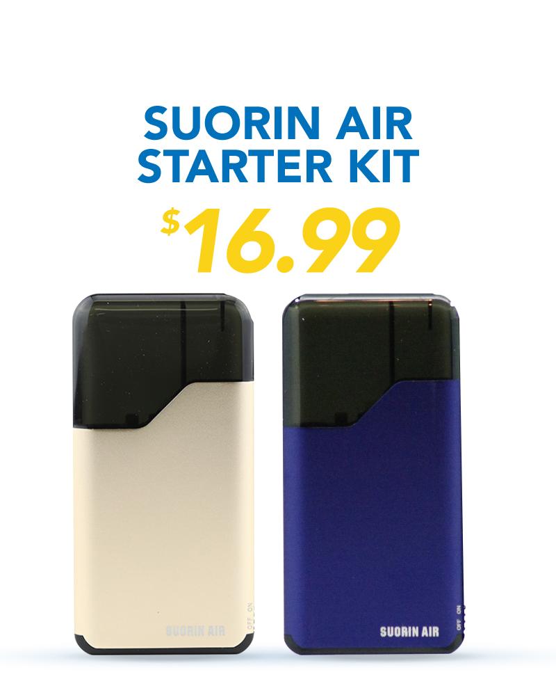 Suorin Air Starter Kit, $16.99