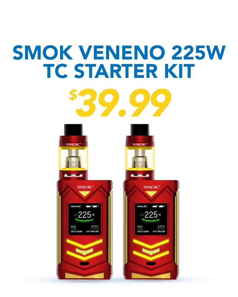 Smok Veneno 225W TC Starter Kit, $39.99
