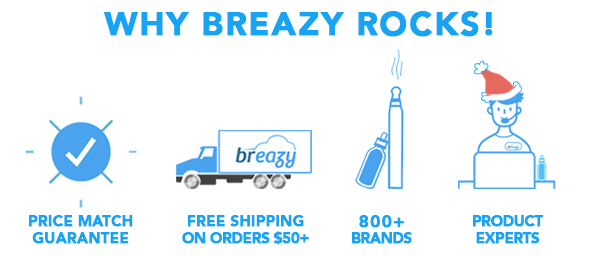 Why Breazy Rocks! Price Match Gurantee, Free Shipping, Largest Selection & Product Experts