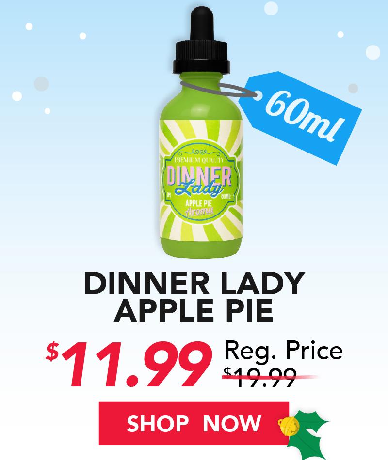 dinner lady apple pie 60ml $11.99